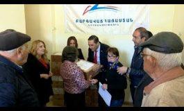 Շարունակվում է Գ.Ծառուկյանի խոշորամասշտաբ սոցիալական աջակցությունը Գեղարքունիքի մարզին
