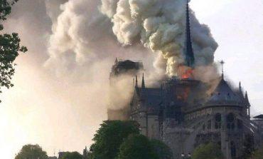 ՏԵՍԱՆՅՈՒԹ. Փարիզում այրվում է Աստվածամոր տաճարը