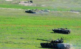 Մարտական զորավարժություն Արցախում. ներգրավված են եղել զրահատանկային ուժեր