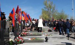 Հարգանքի տուրքը Ապրիլյան պատերազմի զոհերի հիշատակին. ուղիղ միացում Եռաբլուրից