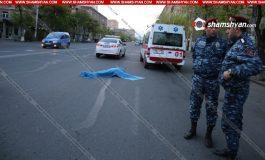 ՖՈՏՈ. Մահվան ելքով վրաերթ Երևանում. Հետիոտնը տեղում մահացել է. Վարորդը դիմել է փախուստի