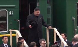ՏԵՍԱՆՅՈՒԹ. Կիմ Չեն Ընն առաջին անգամ Ռուսաստան է այցելել զրահապատ գնացքով