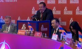 ՏԵՍԱՆՅՈՒԹ. Գագիկ Ծառուկյանի նախաձեռնությամբ կայացավ ԵԱՏՄ անդամ և գործընկեր երկրների քաղաքական ուժերի կլոր սեղանը