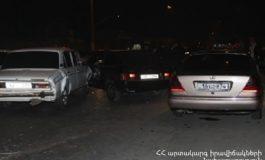 Աշտարակի խճուղու սկզբնամասում բախվել է վեց ավտոմեքենա. կան տուժածներ