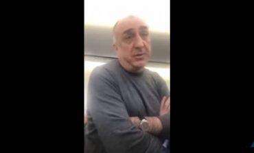 ՏԵՍԱՆՅՈՒԹ. Հայերը օդանավում բռնացրել են Ադրբեջանի ԱԳ նախարար Էլմար Մամեդյարովին