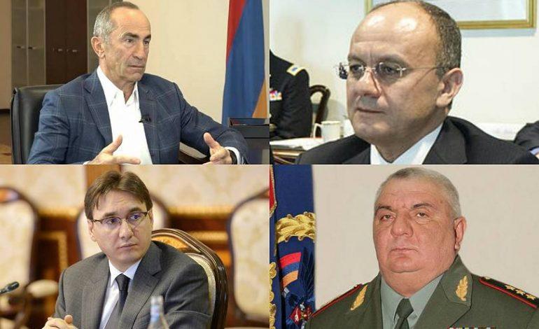 Ի՞նչ փուլում է գտնվում Քոչարյանի եւ մյուսների գործով դիմումը Սահմանադրական դատարանում