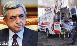 Սերժ Սարգսյանին շտապ տեղափոխել են հիվանդանոց... նախագահի գրասենյակի արձագանքը