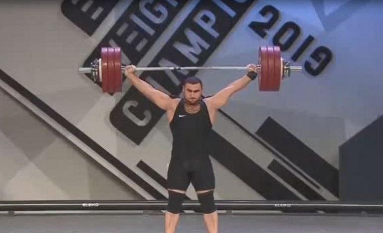 ՏԵՍԱՆՅՈՒԹ. Ծանրամարտի ԵԱ. Սիմոն Մարտիրոսյանը փոքր ոսկե մեդալ նվաճեց պոկում վարժությունում
