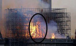 VIDEO. Շոտլանդուհին պնդում է, որ այրվող Աստվածամոր տաճարի լուսանկարում նշմարել է Հիսուսի ուրվագիծը