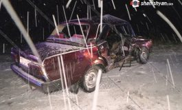 ՖՈՏՈ. Մերկասառույցի պատճառով հերթական խոշոր ու ողբերգական ավտովթարն է տեղի ունեցել Գեղարքունիքի մարզում. կա 1 զոհ, 2 վիրավոր