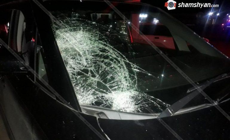 ՖՈՏՈ. Մահվան ելքով վրաերթ Արարատի մարզում. 54-ամյա վարորդը Honda-ով վրաերթի է ենթարկել հետիոտնին. վերջինս հիվանդանոցում մահացել է