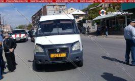 ՖՈՏՈ. Մահվան ելքով վրաերթ Լոռու մարզում. Վանաձորում 35-ամյա վարորդը մարդատար ГАЗель-ով վրաերթի է ենթարկել հետիոտնին
