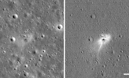 NASA-ն լուսնի վրա վթարված տիեզերանավի հետքեր է հայտնաբերել (լուսանկարներ)