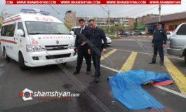 Մահվան ելքով վրաերթ Երևանում. 24-ամյա վարորդը Mazda-ով Վազգեն Սարգսյանի անվան ռազմական համալսարանի դիմաց վրաերթի է ենթարկել համալսարանի աշխատակցին
