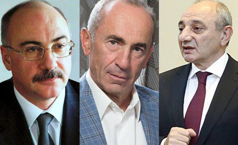 Ղարաբաղի ներկա ու նախկին նախագահները կմասնակցեն Քոչարյանի դատին