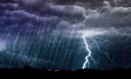 Անձրև, ամպրոպ, կարկուտ. եղանակը Հայաստանում և Արցախում