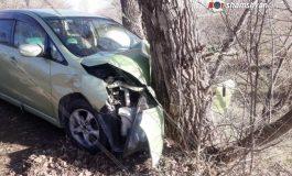 ՖՈՏՈ. Սևան-Մարտունի ճանապարհին Mercedes-ի վարորդը խմած վիճակում բախվել է Mitsubishi-ին եւ դիմել փախուստի․ կան վիրավորներ