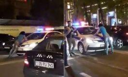 ՏԵՍԱՆՅՈՒԹ. Գինու տոնին՝ ալկոհոլի ազդեցության տակ գտնվող աղջիկը Երևանում փակել է ոստիկանության մեքենայի ճանապարհը