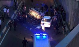 ՏԵՍԱՆՅՈՒԹ. Ավտոմեքենան Սարալանջում 20 մետրից գահավիժել է