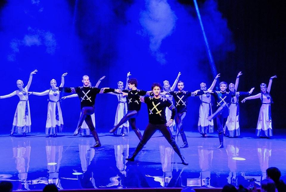 ՖՈՏՈ. Հովհաննես Գասպարյանի անվան պարի ակադեմիայի 28-րդ մենահամերգը և հայկական պարը մոսկովյան բեմում