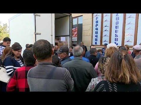 ՏԵՍԱՆՅՈՒԹ. Գագիկ Ծառուկյանի օգնությամբ Գեղարքունիքի մարզի զինծառայողների 100-ից ավելի ծնողներ մեկնել են Արցախ