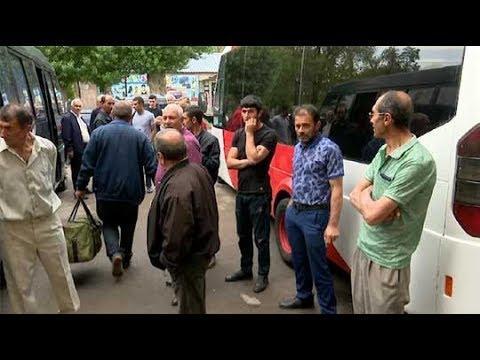 ՏԵՍԱՆՅՈՒԹ. Գագիկ Ծառուկյանի շնորհիվ Վարդենիսի և հարակից 35 գյուղերի զինծառայողների ծնողները մեկնել են Արցախ