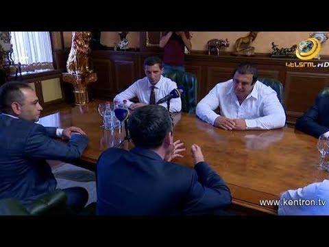 ՏԵՍԱՆՅՈՒԹ. ԲՀԿ նախագահ Գագիկ Ծառուկյանը հանդիպել է ՀՅԴ ներկայացուցիչների հետ