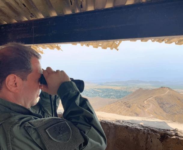 ՖՈՏՈ. Ինչո՞ւ է Դավիթ Տոնոյանն այցելել մարտական դիրքեր