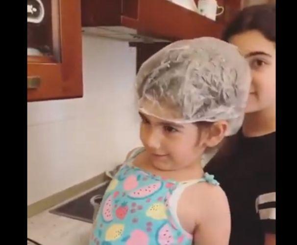 ՏԵՍԱՆՅՈՒԹ. Ինչպե՞ս են Նիկոլ Փաշինյանի աղջիկները տորթ թխում