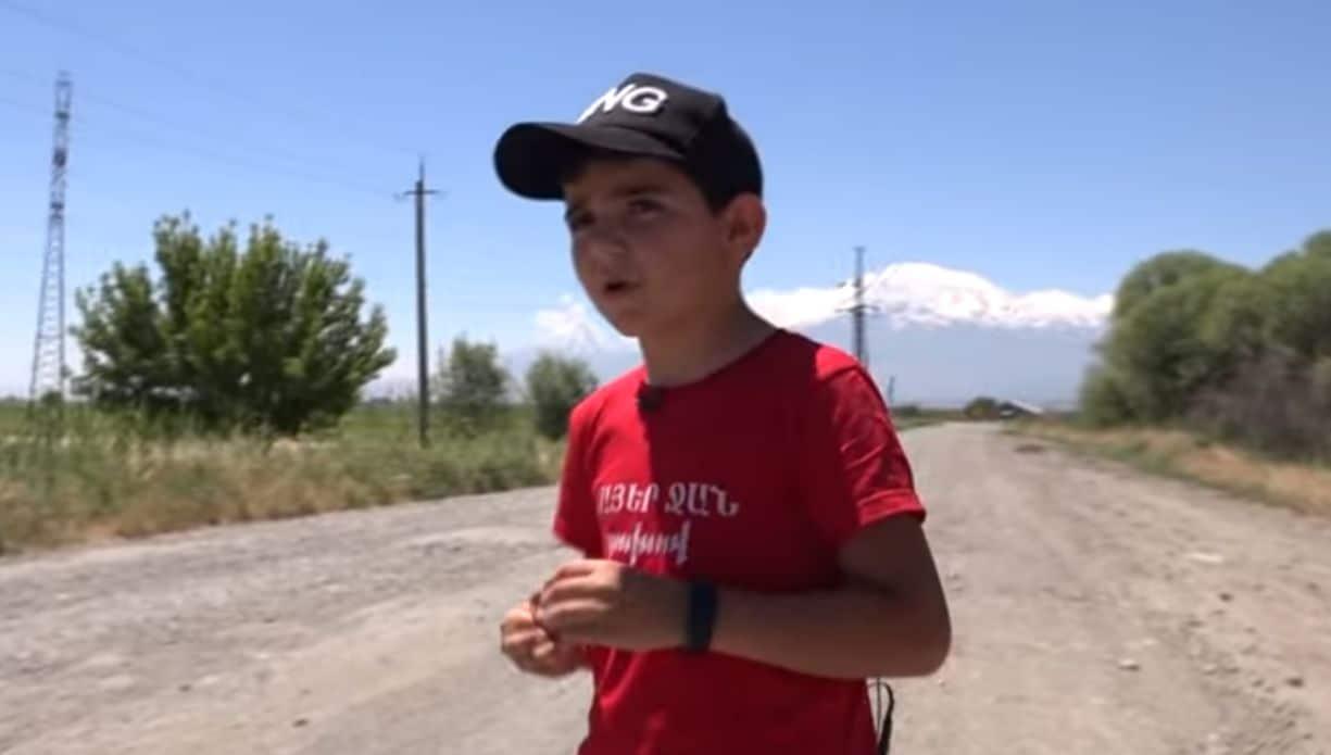 Նոր տեսանյութ` Սիս գյուղի հայտնի տղայի մասնակցությամբ