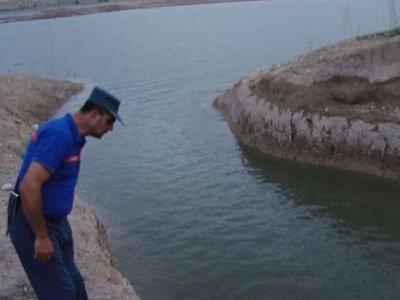 Չարենցավան քաղաքի ջրավազանում դի է հայտնաբերվել