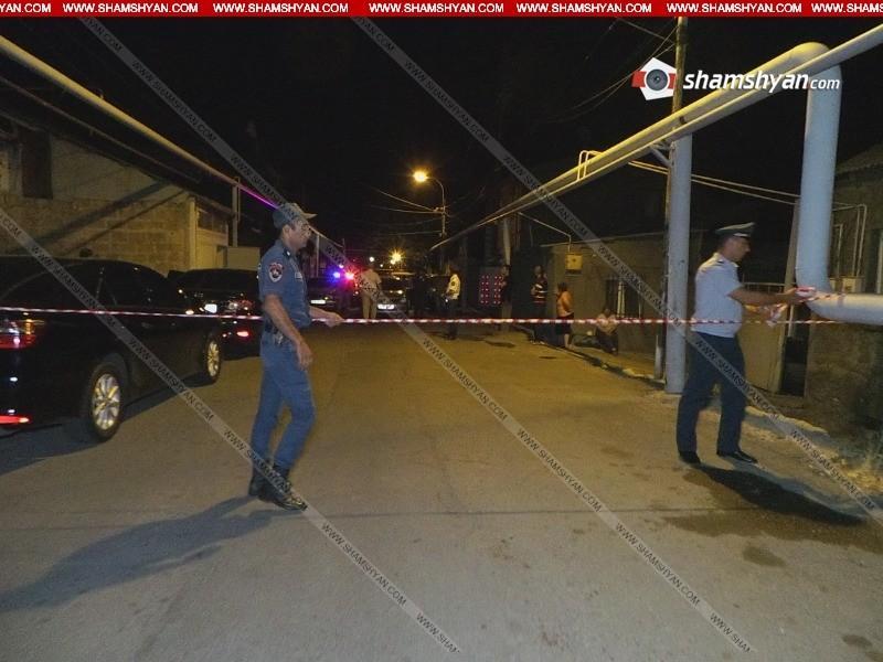 ՖՈՏՈ. Արտակարգ դեպք Երեւանում․ դանակահարված 6 քաղաքացի է հոսպիտալացվել