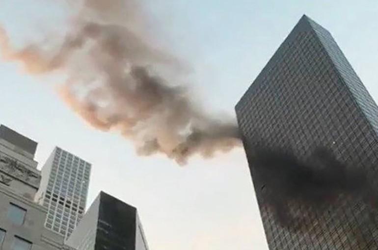 ՏԵՍԱՆՅՈՒԹ. Նյու Յորքում ուղղաթիռը երկնաքերի է բախվել