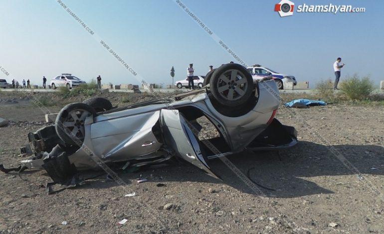 ՖՈՏՈ. Դաժան ու ողբերգական ավտովթար Արագածոտնի մարզում. հոր մահվան տարելիցի օրը ավտովթարի հետևանքով մահացավ 29-ամյա որդին