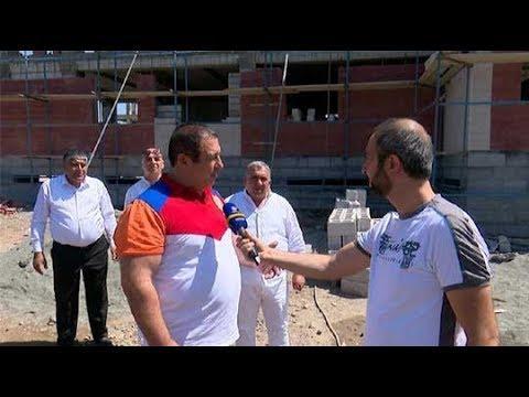 ՏԵՍԱՆՅՈՒԹ. Գագիկ Ծառուկյանն այցելել է Աբովյանում կառուցվող երիտասարդական թաղամասի շինհրապարակ