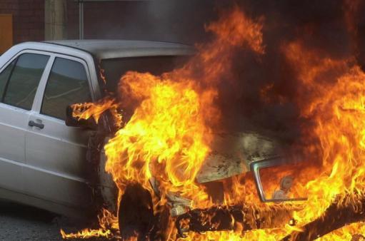 ՏԵՍԱՆՅՈՒԹ. Արտաշատ-Երևան ավտոճանապարհին մեքենա է այրվել