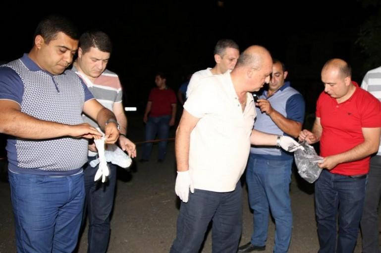 ՖՈՏՈ. Աբովյանում 34-ամյա տղամարդու սպանությունը բացահայտվել է, կասկածյալը ձերբակալվել է