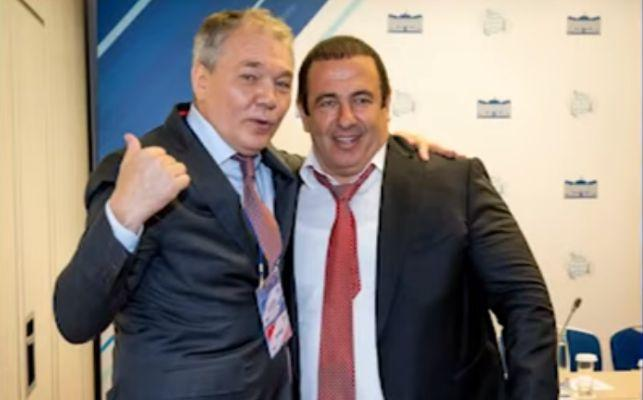 ՏԵՍԱՆՅՈՒԹ. Մոսկվայում Գագիկ Ծառուկյանը հանդիպել է Լեոնիդ Կալաշնիկովի հետ