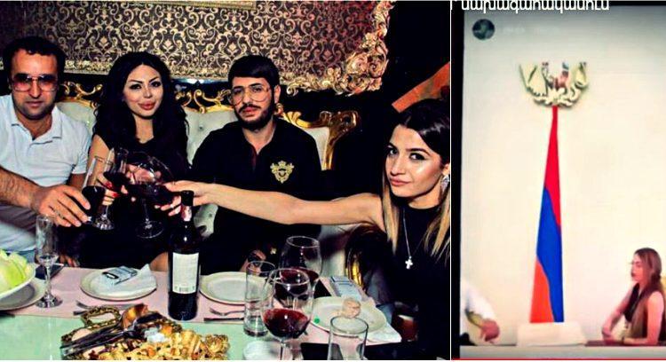 ՏԵՍԱՆՅՈՒԹ. ԱԺ պատգամավոր Հայկ Սարգսյանը գեղեցկուհուն էքսկուրսիայի է տարել ՀՀ նախագահի նստավայր