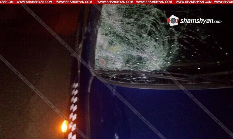 ՖՈՏՈ. Արագածոտնի մարզում 47-ամյա վարորդը Opel-ով վրաերթի է ենթարկել 42-ամյա հետիոտնի. վերջինս տեղում մահացել է