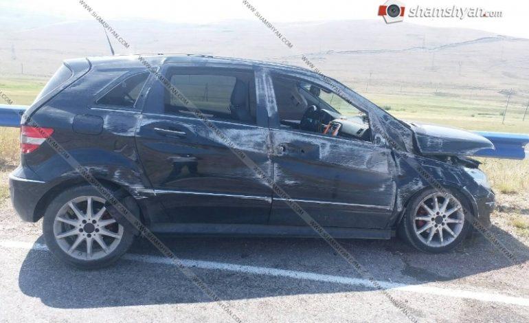 ՖՈՏՈ. Գեղարքունիքի մարզում զինծառայողը վթարի է ենթարկվել