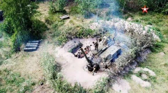 ՏԵՍԱՆՅՈՒԹ. ՌԴ ՊՆ-ն ցույց է տվել, թե ինչպես է կրակում աշխարհի ամենահզոր ականանետը