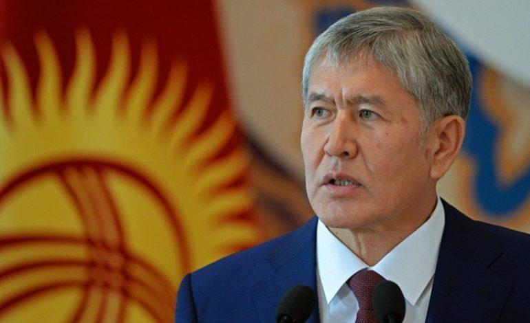 Ղրղզստանի գլխավոր դատախազությունն Աթամբաևին կասկածում է ապօրինի հարստացման մեջ