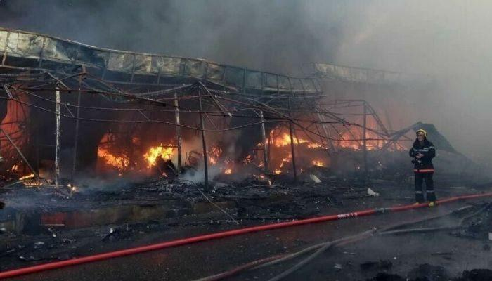 Բաքվում առևտրի խոշոր կենտրոն է այրվել