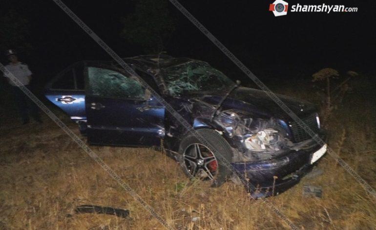 ՖՈՏՈ. Ողբերգական ավտովթար Գեղարքունիքի մարզում. 24–ամյա վարորդի դին հայտնաբերվել է ավտոմեքենայից դուրս