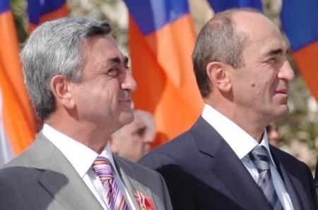 Սերժ Սարգսյանը շնորհավորական ուղերձ է հղել Ռոբերտ Քոչարյանին` ծննդյան օրվա առթիվ