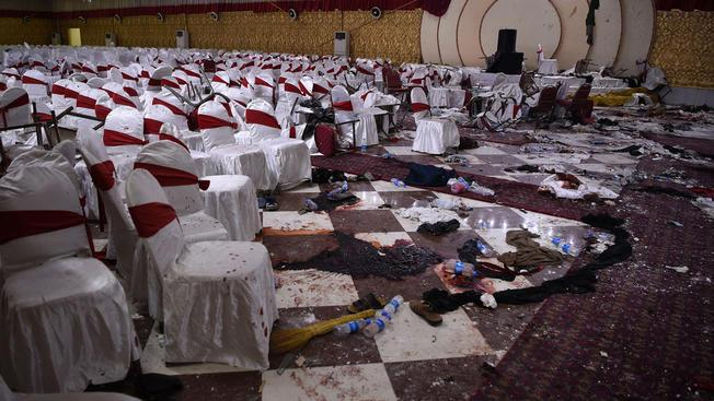 ՖՈՏՈ. ՏԵՍԱՆՅՈՒԹ. Աֆղանստանում հարսանիքի ժամանակ մահապարտ ահաբեկիչը պայթյուն է իրականացրել. առնվազն 63 մարդ է զոհվել