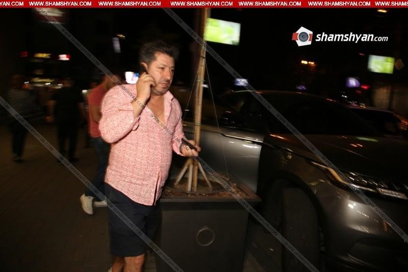ՖՈՏՈ. Երգիչ Գրիգոր Աղախանյանն ավտովթարի է ենթարկվել