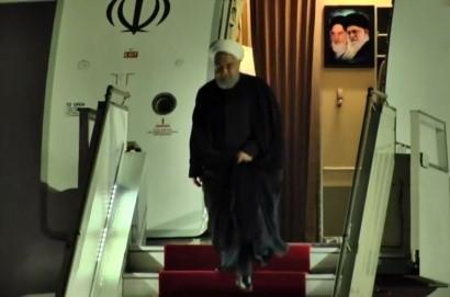 Իրանի նախագահ Հասան Ռոհանին ժամանեց Հայաստան