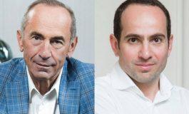 Ռոբերտ և Սեդրակ Քոչարյանների իրավունքները խախտվել են. փաստաբանական թիմ
